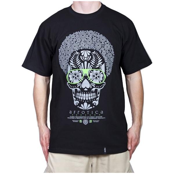 T-shirt Afro SKULL 174