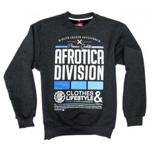 AFROTICA bluza klasyk DIVISION 317 C / grafit