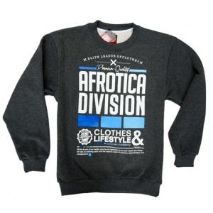 AFROTICA bluza klasyk DIVISION 317 D / szara