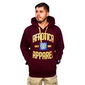 AFROTICA bluza kangurka APPAREL 318 A / bordowa
