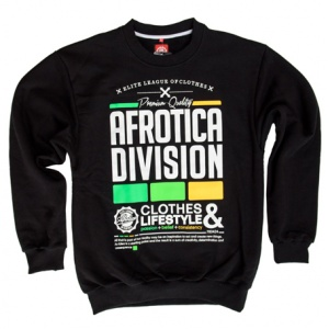 AFROTICA bluza klasyk DIVISION 317 E / czarna