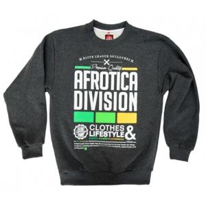 AFROTICA bluza klasyk DIVISION 317 F / szara