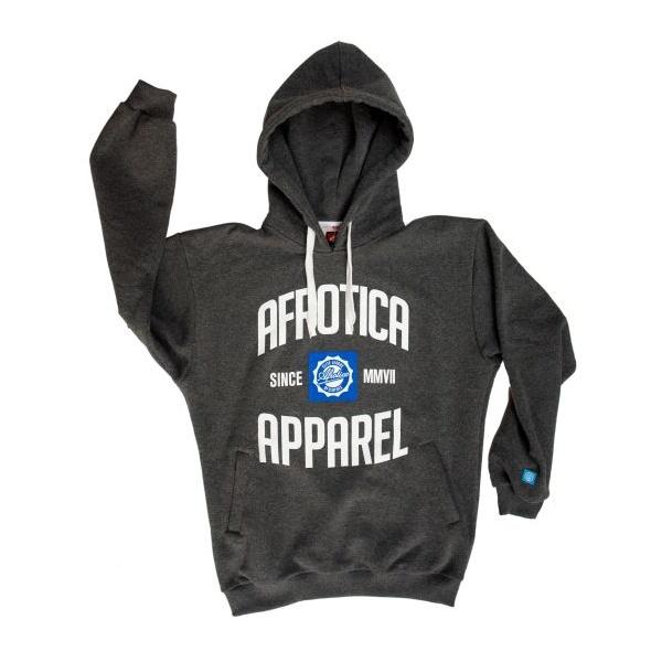 AFROTICA bluza kangurka APPAREL 318 D / szara