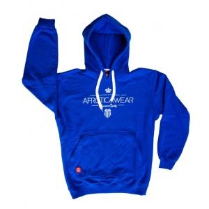 AFROTICA bluza kangurka ROYAL 319 C / niebieska